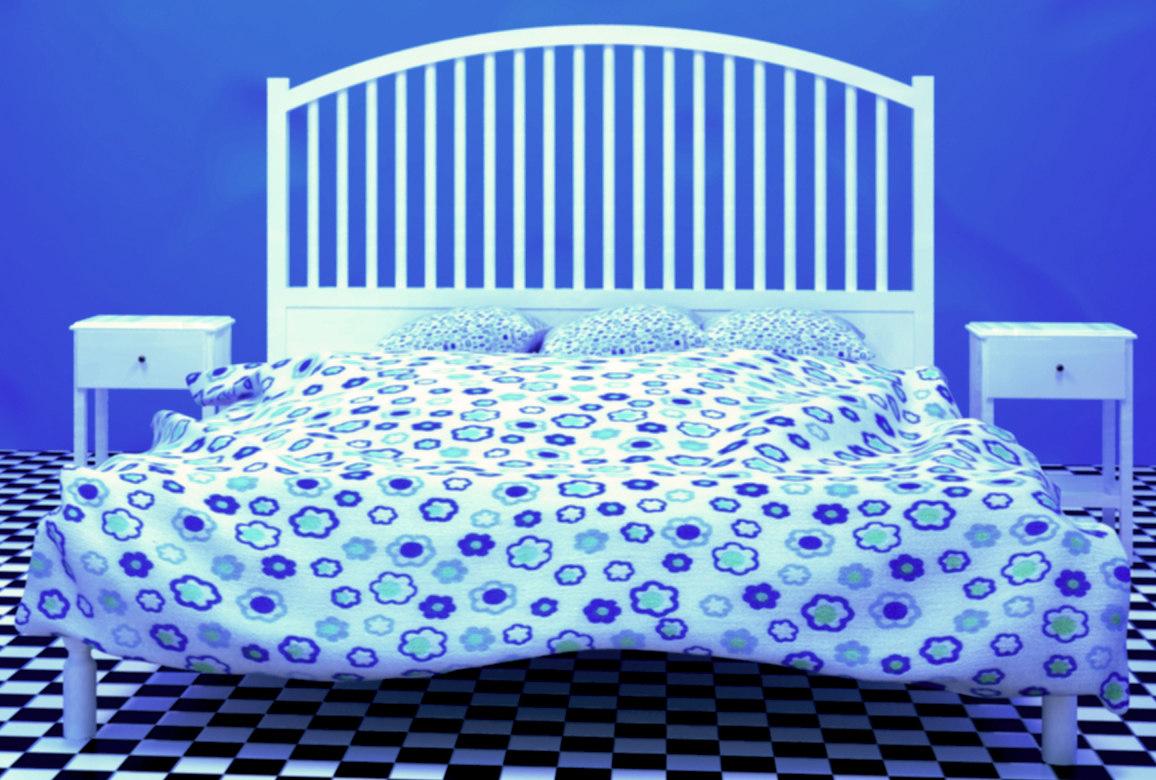 3D ikea bed model