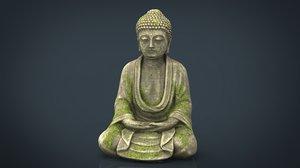 3D ancient buddha model