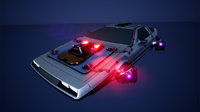 Cyberpunk DeLorean