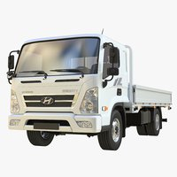 3D realistic hyundai mighty 02 model