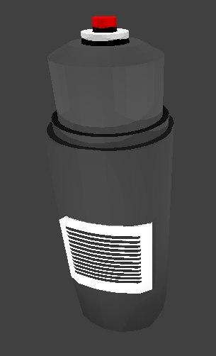 deodorant spray 3D