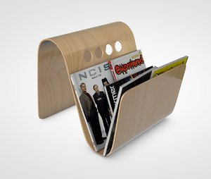 magazine holder 3D