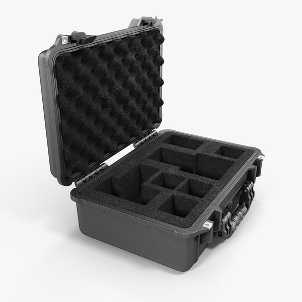 waterproof photo case black 3D model