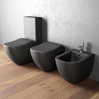 Ceramica Cielo Fluid bidet and toilet