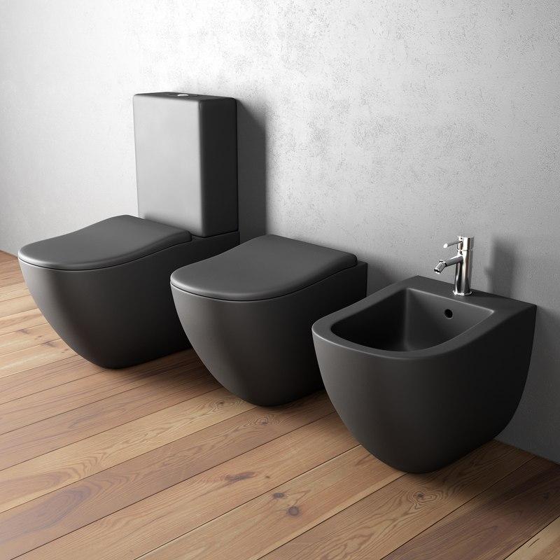 3D toilet fluid bidet
