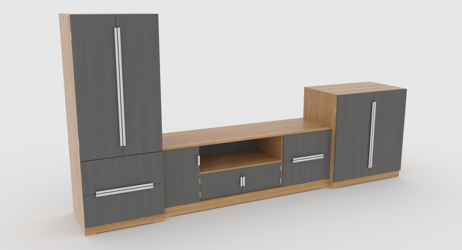 tv stand 58 3D