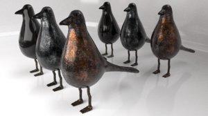 bird set trinket 3D model