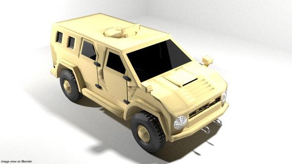 armoured car wildboar model