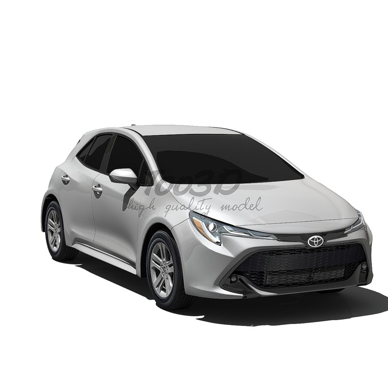 corolla hatchback 3D model
