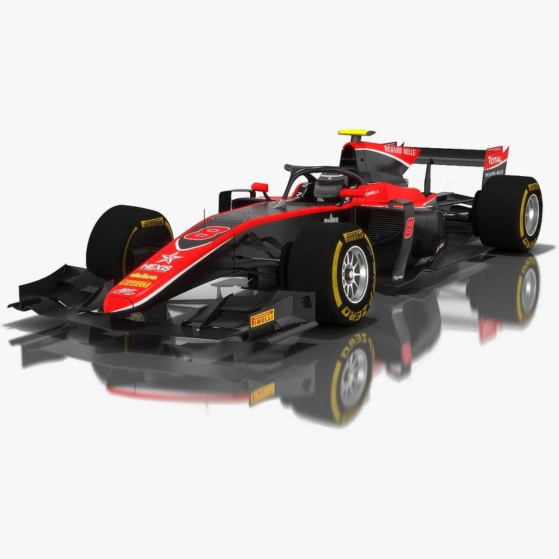 art grand prix formula 3D