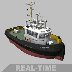 3D stan tug 1606 model