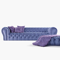 3D model chesterfield sofa ivonne epoque