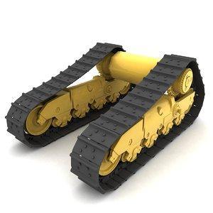 3D rigged tracks