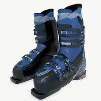ski boots 3D model
