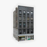 ready apartment building 3D