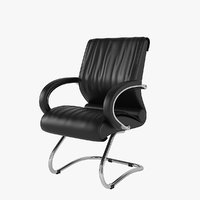 3D chairman 445 office chair model