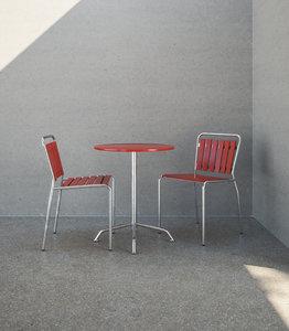 embru haefeli chair table 3D model