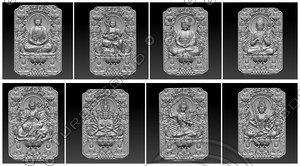 stl buddhas 3D