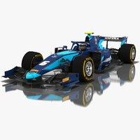 3D model dams formula 2 season
