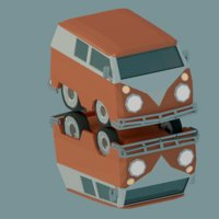Combi LowPoly Cartoon