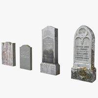 tombstones 2 3D