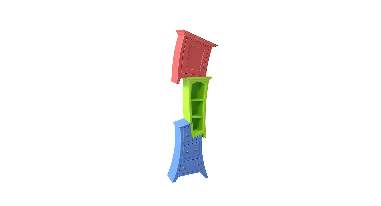 book case bookcase model