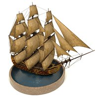 3D pirate games sails