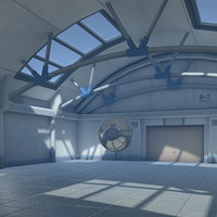 3D warehouse environment model
