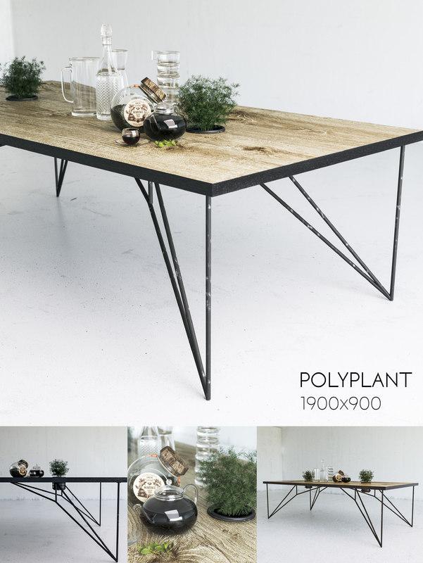 table loft 3D model
