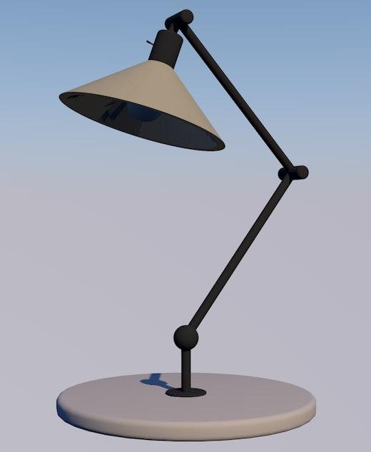 3D simple lamp