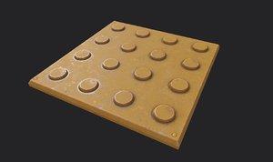 3D tile model