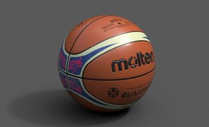 3D molten official qualifiers basketball ball