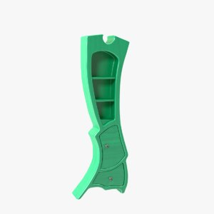 3D model book case bookcase