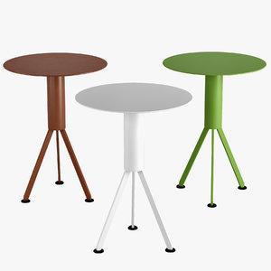 3D table husk outdoor