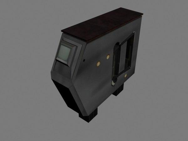 3D russian turnstile