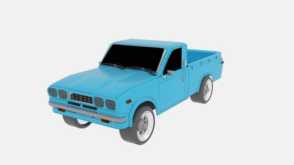 toyota hilux n20 3D model