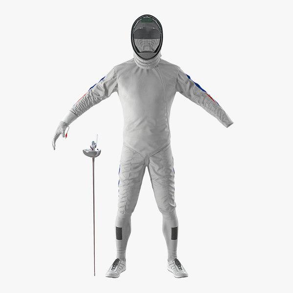 fencer suit model