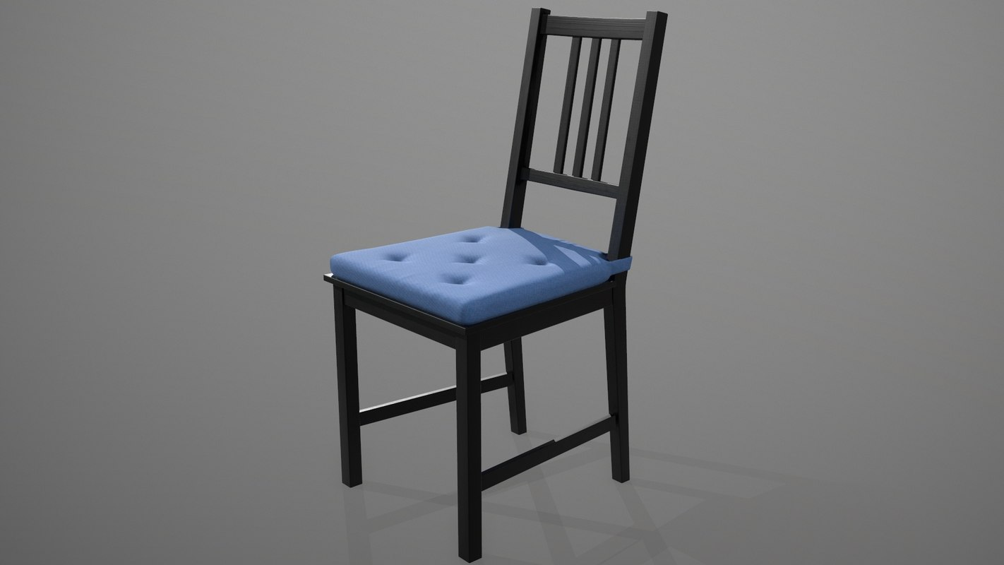 chair ikea 3D model