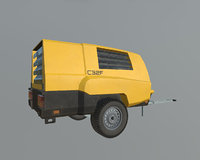 3D mobile compressor