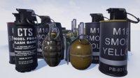 asset grenade 3D model