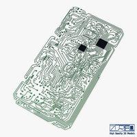 3D model electronic circuit v 2