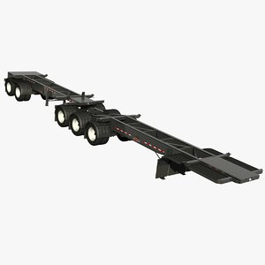 trailer doepker containe model