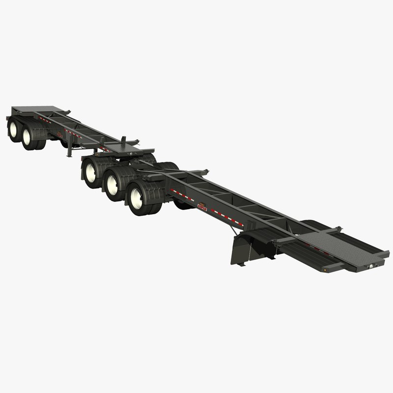 trailer doepker containe model