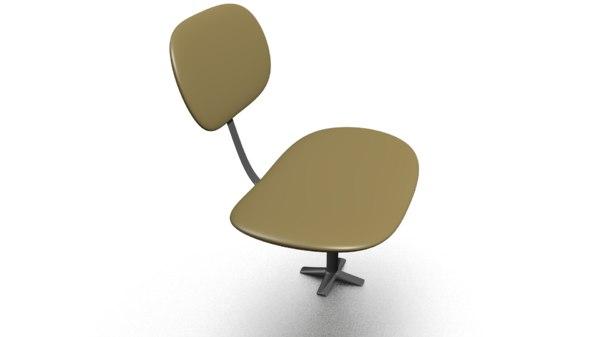 chair blender 3D