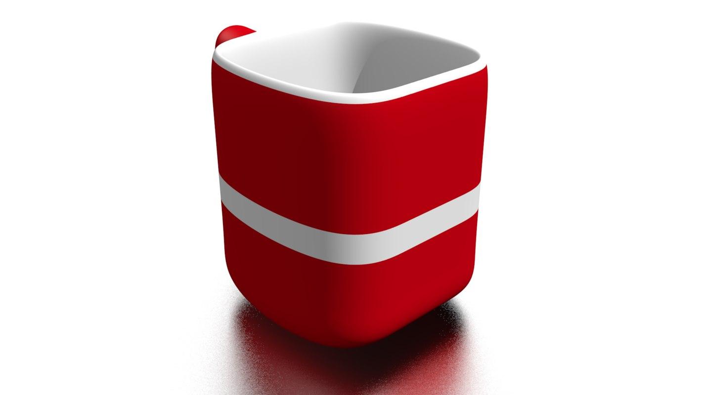 cup blender 3D