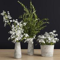 decor bouquet 3D model