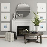 fireplace decor model