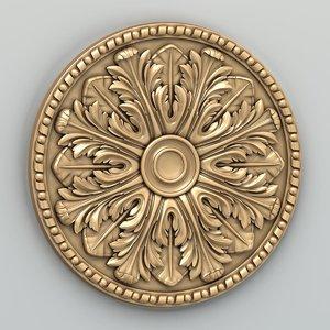 3D rosette cnc intagli3d