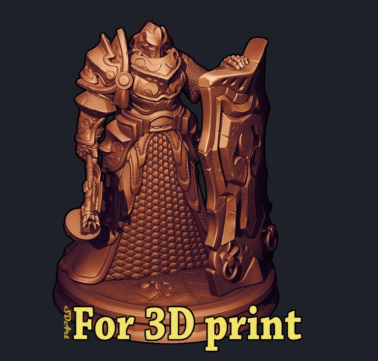 knight rafos 3D