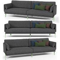 bonaldo structure sofa 3D model